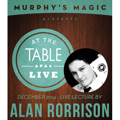 At the Table Live Lecture - Alan Rorrison 12/10/2014 - video DOWNLOAD