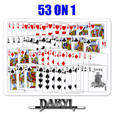 53 On 1  (BLUE BACK) by Daryl - Trick