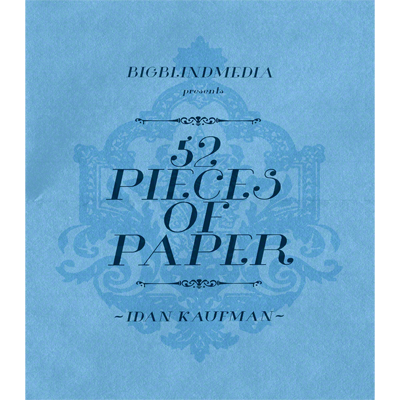52 Pieces Of Paper by Idan Kaufman and Big Blind Media vidoe DOWNLOAD