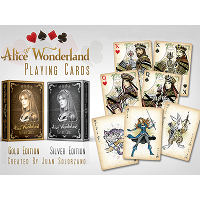 Alice of Wonderland Gold by Gamblers Warehouse - Trick