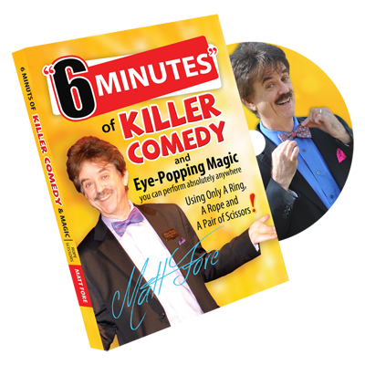 6 Minutes by Matt Fore - DVD