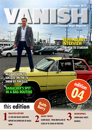 VANISH Magazine October/November 2012 - Keith Barry eBook DOWNLOAD