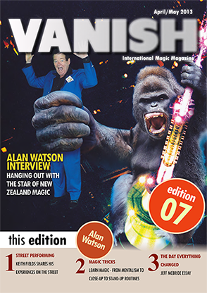 VANISH Magazine April/May 2013 - Alan Watson eBook DOWNLOAD