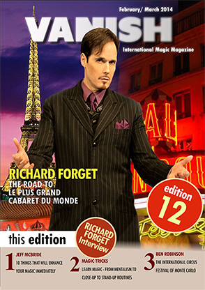 VANISH Magazine February/March 2014 - Richard Forget eBook DOWNLOAD