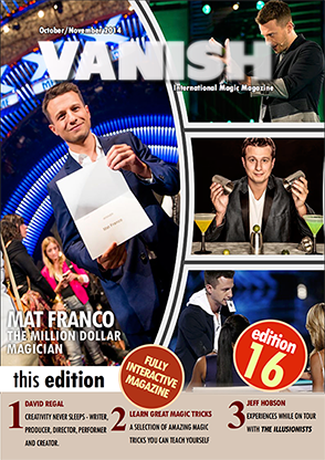 VANISH Magazine October/November 2014 - Mat Franco eBook DOWNLOAD