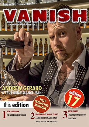 VANISH Magazine December 2014/January 2015 - Andrew Gerard eBook DOWNLOAD