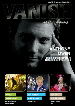 VANISH Magazine February/March 2015 - Anthony Owen eBook DOWNLOAD