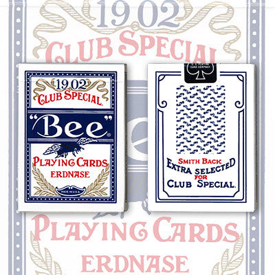Bee Erdnase 1902 (Blue Smith No 2, Cambric Finish)
