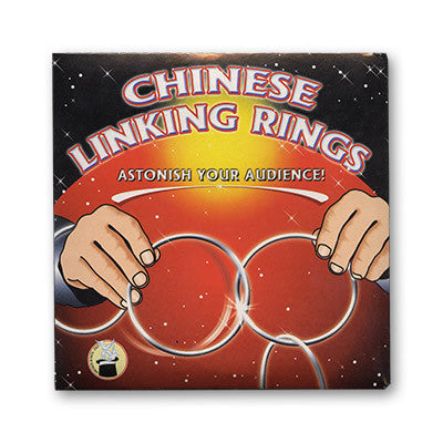 Chinese Linking Rings (5 inch) by Vincenzo DiFatta - Tricks