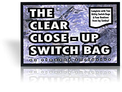 Clear Close-up Switch Bag