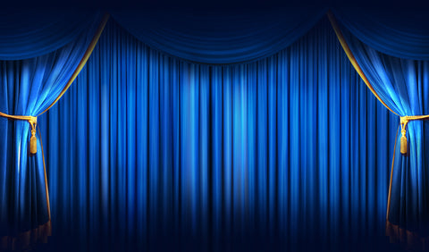 12X18 Deluxe Close Up Pad Stage Blue