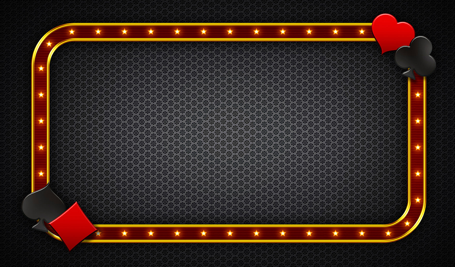 12X18 Deluxe Close Up Pad Casino Black