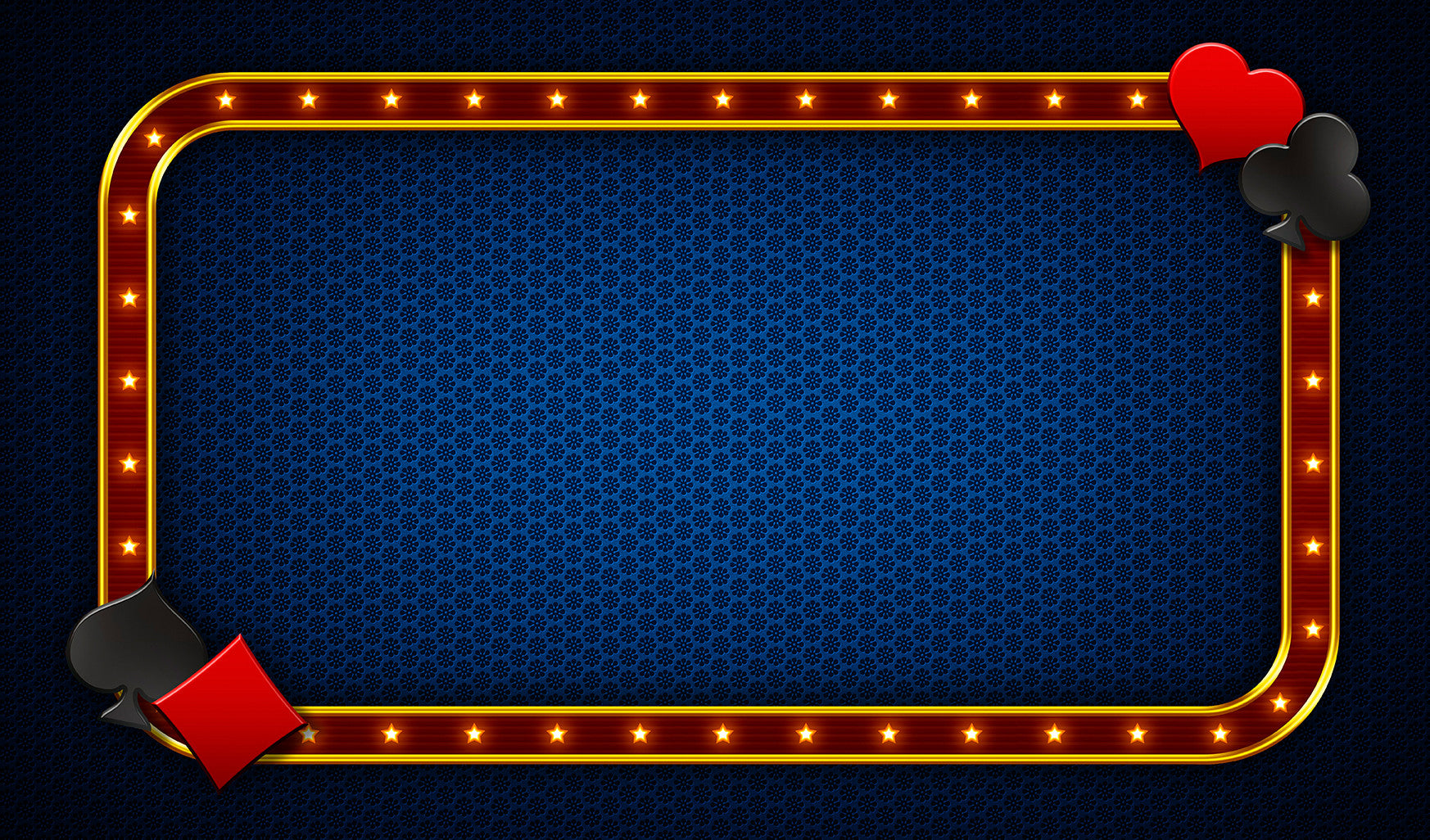 12X18 Deluxe Close Up Pad Casino Blue