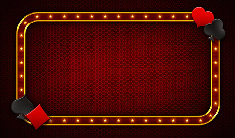 10X16 Deluxe Close Up Pad Casino Red