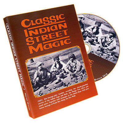 Classic Indian Street Magic (Book and DVD)