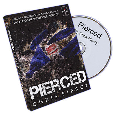 Pierced by Chris Piercy and Merchant of Magic - DVD