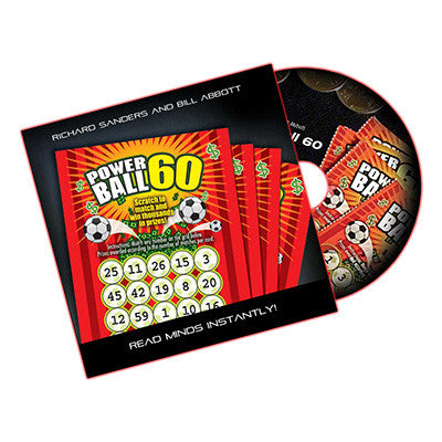 Powerball 60 (DVD Gimmick UK Lotto) by Richard Sanders and Bill Abbott - DVD
