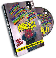 Secret Seminar of Magic with Patrick Page Vol 5  Sponge Balls