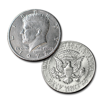 Flipper Coin  Half Dollar by Johnson