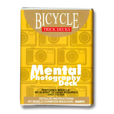 Mental Photo Deck (Blue - Bicycle)
