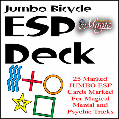Jumbo Marked ESP Decks (Blue Bicycle)