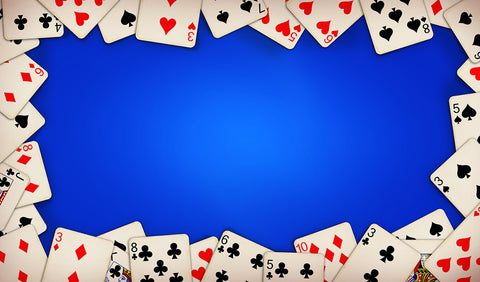 12X18 Deluxe Close Up Pad Cards Blue