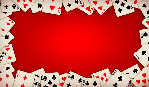 12X18 Deluxe Close Up Pad Cards Red