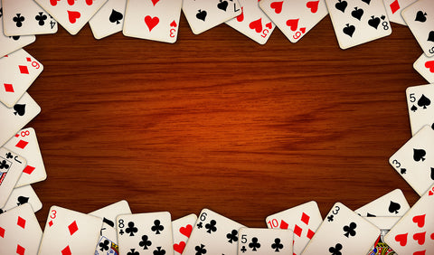 12X18 Deluxe Close Up Pad Cards Wood