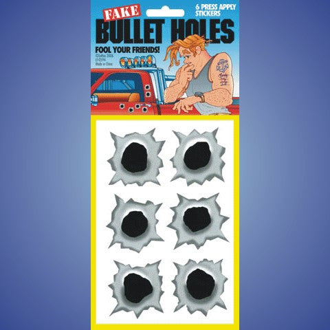 Bullet Holes - Metallic