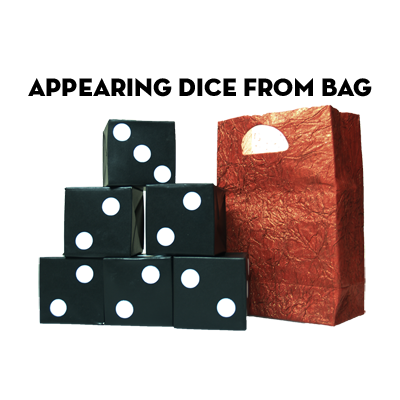 Appearing Dice From Bag by Premium Magic - Trick