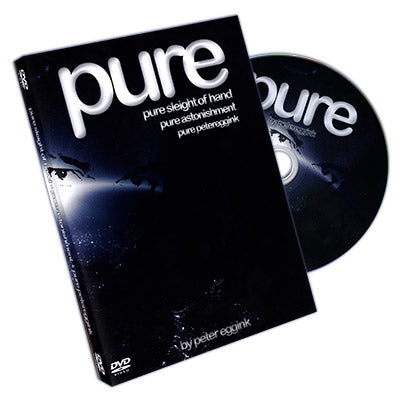 Pure by Peter Eggink - DVD