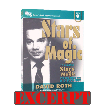 Super Clean Coin Downloadss Across video DOWNLOAD (Excerpt of Stars Of Magic 9 (David Roth) - DVD)