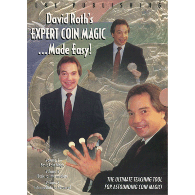 David Roth Expert Coin Downloads Magic Made Easy (3 Vol. set) video DOWNLOAD