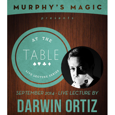 At the Table Live Lecture - Darwin Ortiz 9/3/2014 - video DOWNLOAD