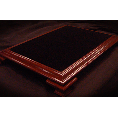 Elite Table Mahogany with Black Velvet, Small