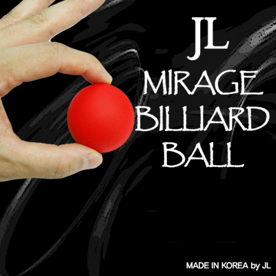 2 Inch Mirage Billiard Balls by JL (RED single ball only) - Trick