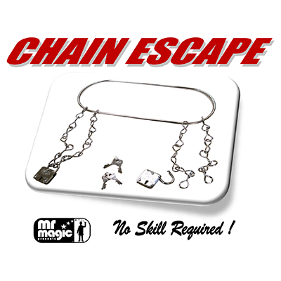 Chain Escape (with Stock & 2 Locks) by Mr. Magic - Trick