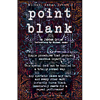Point Blank by Michael Ammar and Jordan Cotler - Trick