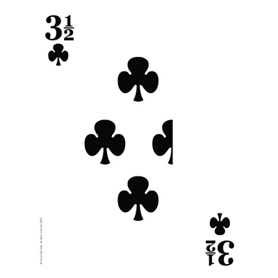 3 1/2 of Clubs