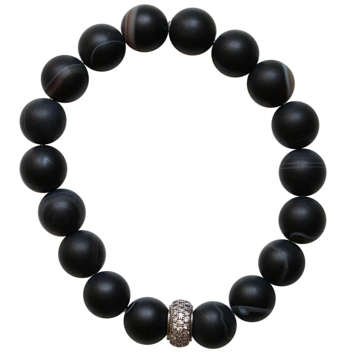 Molly Jane Designs Black Onyx Charm Bracelet