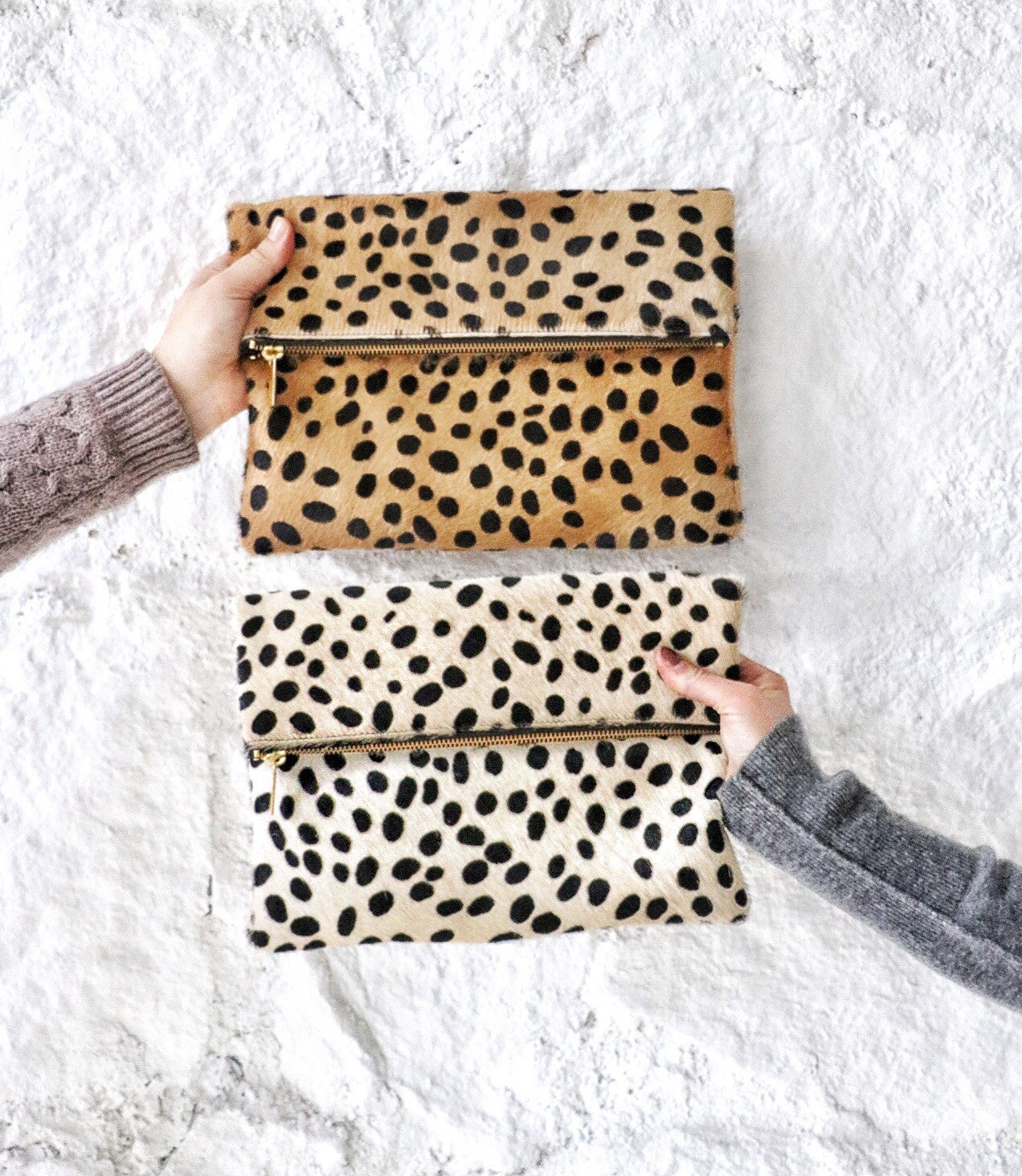 Leopard Bag, Leopard Clutch, Leopard Handbag, Leather Clutch, Gifts for her, Holiday Wishlist, Crossbody Bag, Evening Bag, Southern Designers, Southern Handbag Designer, Cowhide Clutch, Molly Jane Designs, Southern Living Handbags, Handbag Accessories