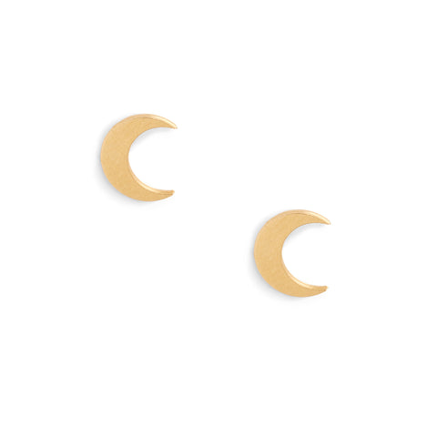 molly jane designs, crescent moon earrings, crescent moon jewelry, petite earrings, minimalistic jewelry, minimalistic earrings, summer jewelry