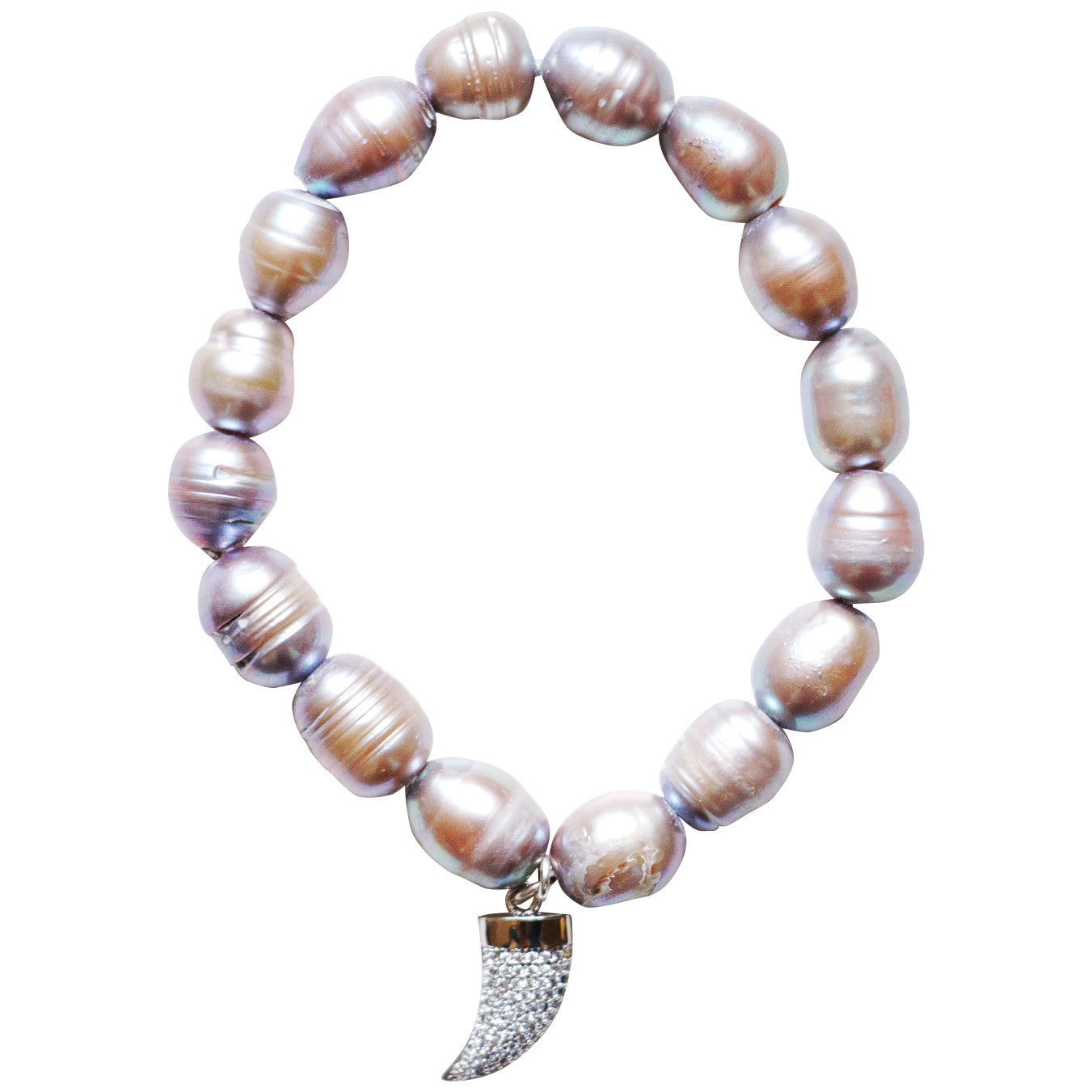Molly Jane Designs Mother of Pearl Charm Bracelet