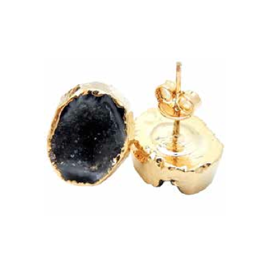 Geode Stud Earrings
