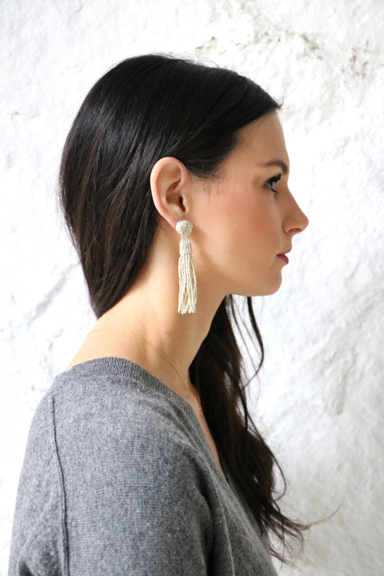 Perfect tassel earrings