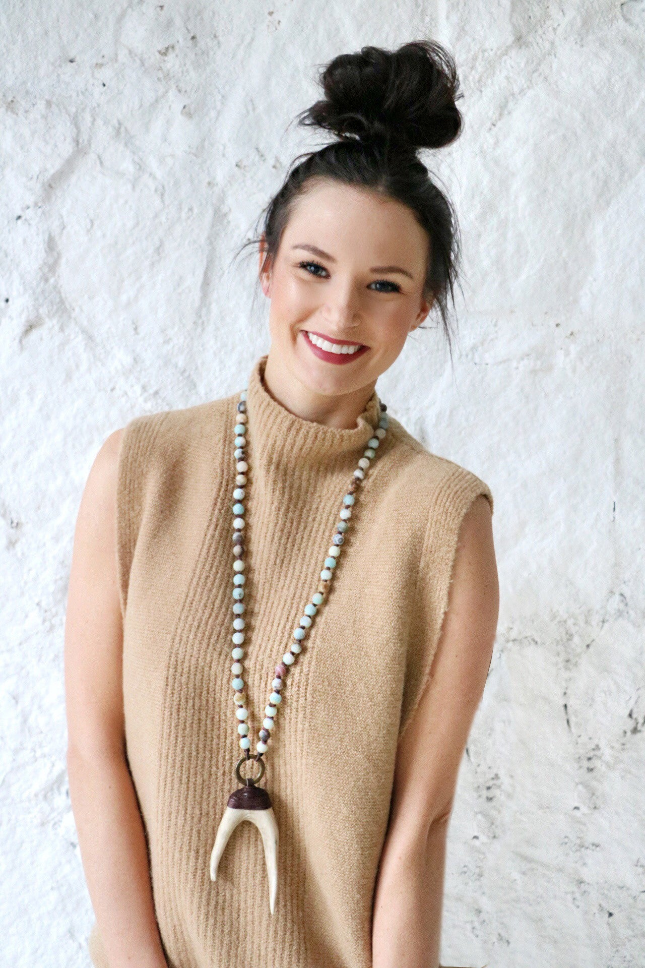 Antler Statement Necklace