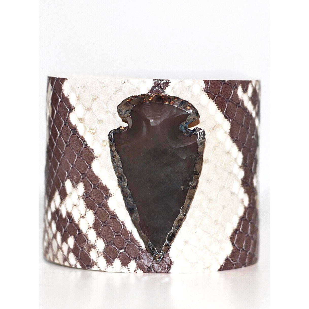 Molly Jane Designs Cowhide Arrowhead Cuff Bracelet