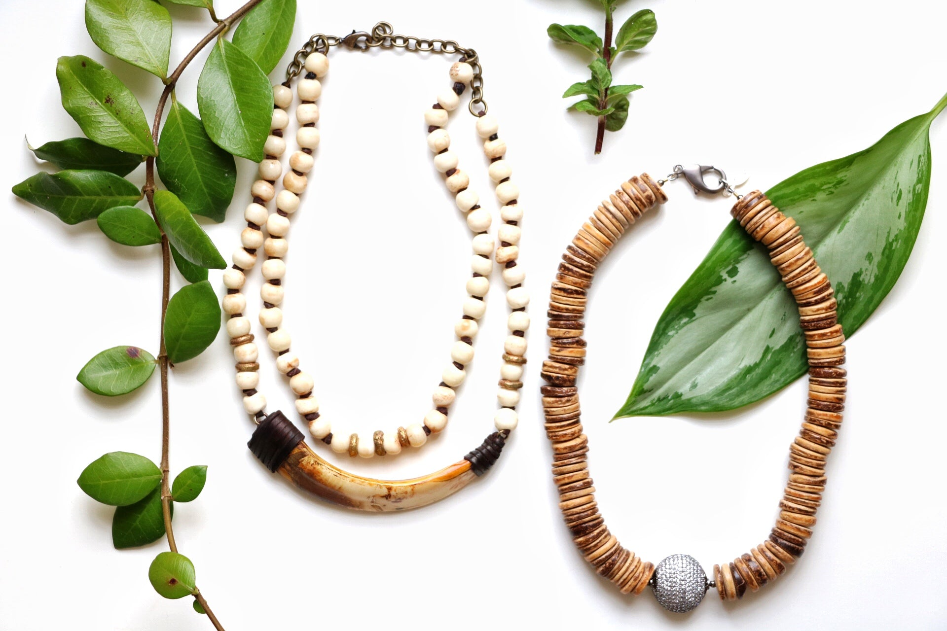 Summer Jewelry, Boho Necklaces for Spring and summer, Minimalist jewelry