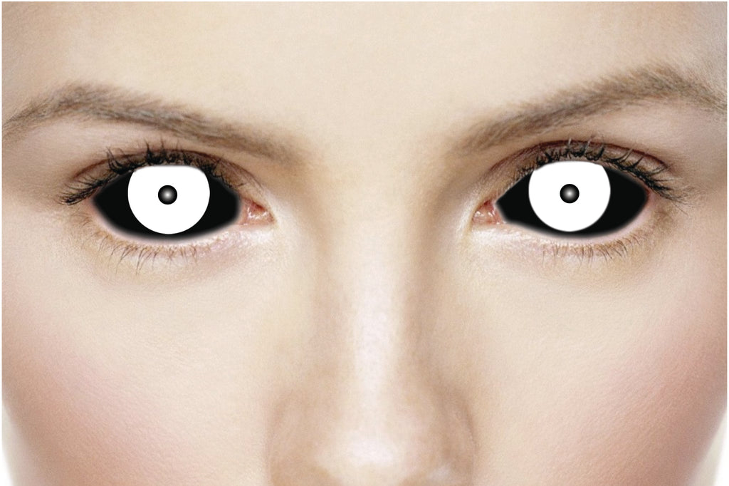 ScleraContacts.co.uk - Freak Black & White Sclera Contact ...