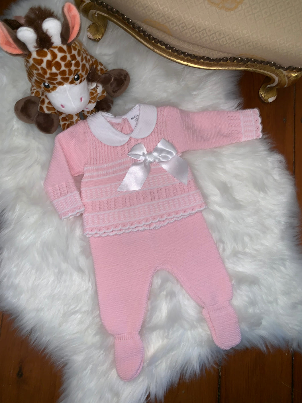 Lottie Girls Knitted Set